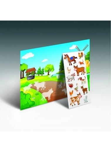 Artikel Bul Yapıştır Çiftliğini Oluştur Eğitici Oyun Renkli
